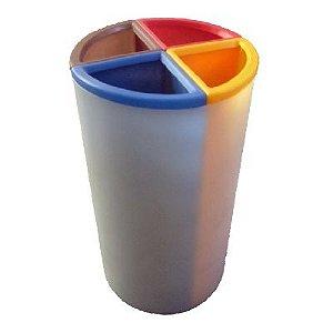 Lixeira Mix com 4 Divisões 200 litros