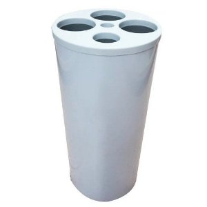Lixeira para Copos Descartáveis 4 Tubos
