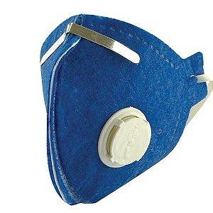 Máscara PFF 2 com Válvula - Plastcor
