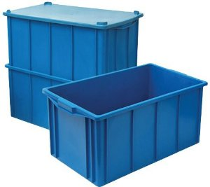 Caixa Plástica Fechada 61 litros