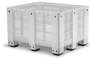 Caixa Pallet Plástica Vazada 570 litros