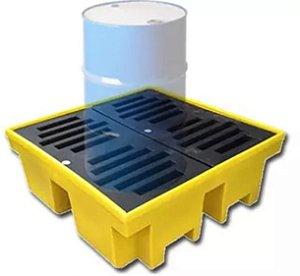 Pallets de Contenção para 4 Tambores 420 litros
