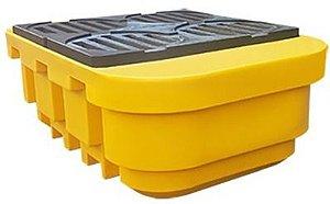 Pallet de Contenção IBC 4 Tambores 1000 litros