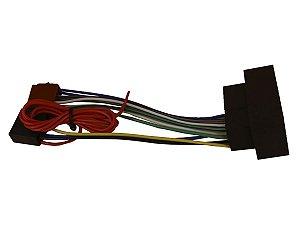Chicote Plug Conector Som CD E DVD Jeep Renegade e Compass