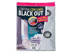 Cortina Corta Luz Blackout Blecaute com Ilhós 2,76x1,98 PVC
