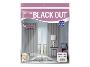 Cortina Corta Luz Blackout Blecaute 1,40 X 2,00 PVC