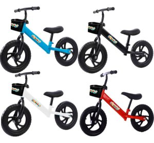 Bicicleta Bike De Equilíbrio Infantil Sem Pedal Balance