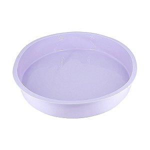 Forma de Silicone Para Bolo Torta Pudim Redonda  28cm