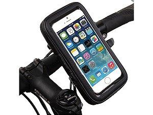 Suporte Capa Celular 5,5'' Motos Bicicletas Impermeável 360°