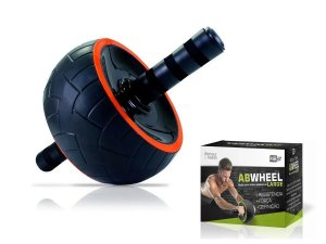 Roda Abdominal Larga Rolo Fitness Profissional Exercício Fit