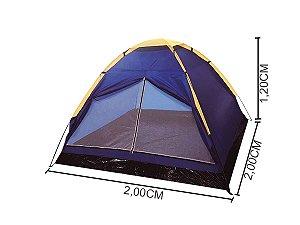 Barraca de Camping Acampamento Tipo Iglu 4 Pessoas Importway