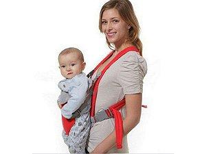 Canguru Porta Bebê Bolsa até 15kg Com 3 Posições