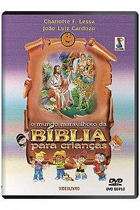 DVD O Mundo Maravilhoso da Bíblia para Crianças (Charlote Lessa)