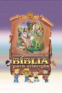 O Mundo Maravilhoso da Bíblia para Crianças (Charlote Lessa) + DVD Videolivro (Brinde)