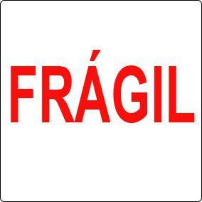Etiqueta frágil 100x100