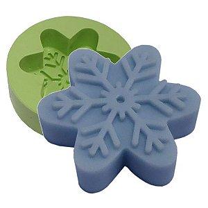 Molde de silicone - Floco Frozen  (1 cav.)