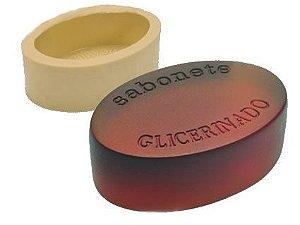 Molde de silicone- Oval Sabonete Glicerinado (1 cav.)