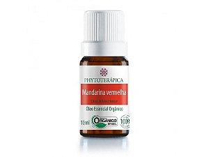 Óleo Essencial Mandarina Vermelha Orgânico 10mL - Phytoterapica