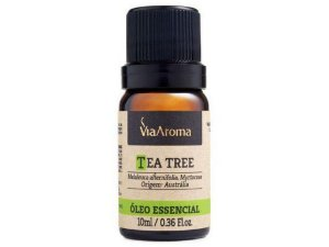 Óleo Essencial Tea Tree (Melaleuca) 10mL - Via Aroma