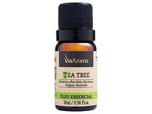 Óleo Essencial Tea Tree (Melaleuca) 10mL - Via Aroma