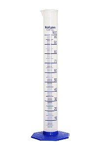 Proveta Plastico Nalgon - 100mL