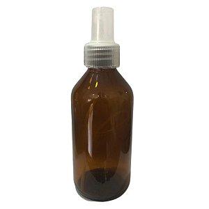 Frasco Âmbar 200 mL c/ Válvula Spray R28