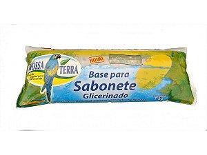 Base Sabonete Glicerinado Transparente 1kg - Nossa Terra