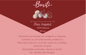 Óleo Vegetal de Buriti - 100mL