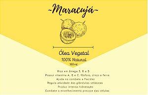 Óleo Vegetal de Maracujá - 100mL