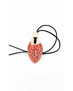 Colar Aromático Flor de Lótus em Cerâmica