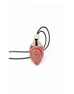 Colar Aromático Mandala em Cerâmica