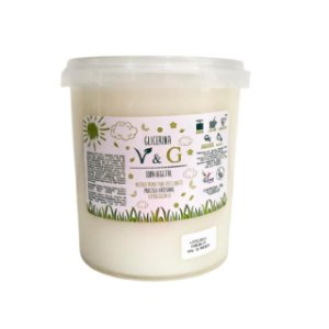 Base para Glicerina para Sabonete V&G 100% Vegetal  1kg BRANCA HIPOALERGÊNICA