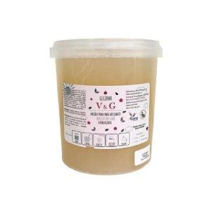 Base para Glicerina para Sabonete V&G Transparente 1kg HIPOALERGÊNICA
