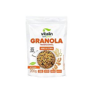 Granola Tradicional Integral Vitalin 200g