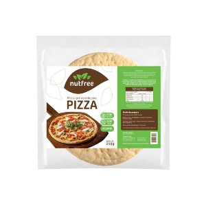 Massa para Pizza Sem Glúten Nutfree 210g