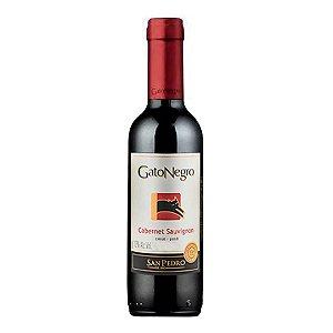 Vinho Chileno Gato Negro Cabernet Sauvignon 375ml (Meia Garrafa)