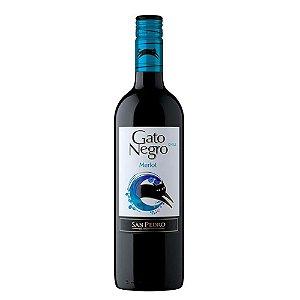 Vinho Chileno Gato Negro Merlot 750ml