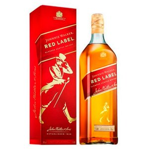Whisky Johnnie Walker Red Label 8 Anos 1 Litro