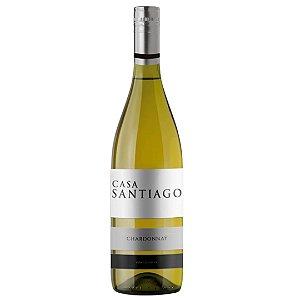 Vinho Chileno Casa Santiago Chardonnay 750ml