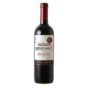 Vinho Chileno Santa Carolina Reservado Cabernet Sauvignon 750ml