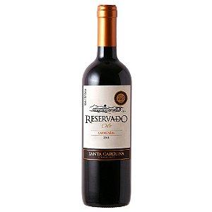 Vinho Chileno Santa Carolina Reservado Carmenere 750ml
