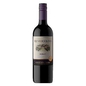 Vinho Chileno Concha Y Toro Reservado Merlot 750ml