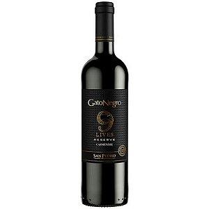 Vinho Chileno Gato Negro Reserva Carmenere 750ml