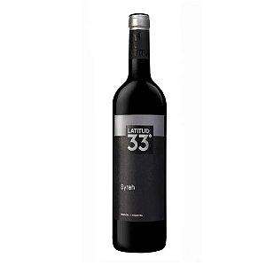 Vinho Argentino Latitud 33º Syrah 750ml