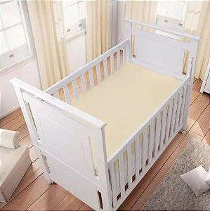 Lençol Amarelo Liso 100% algodão - Carícia Baby Malhas