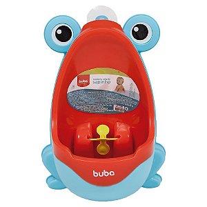 Mictório Infantil Sapinho Azul e Vermelho - Buba