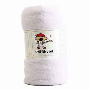 Cobertor Microfibra Branco Parahyba Baby