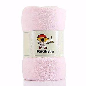 Cobertor Microfibra Rosa Parahyba Baby