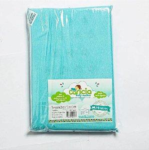 Travesseiro Liso Azul Caricia Minasrey