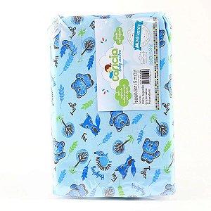 Travesseiro Gatinho Azul Carícia - Minasrey